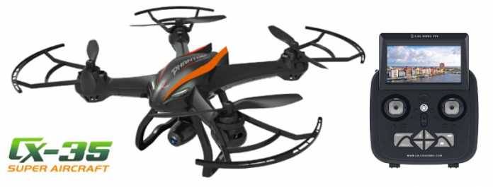 Cheerson CX-35 quadcopter with 5.8GHZ FPV