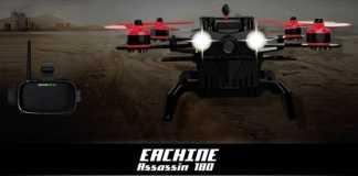 Eachine Assassin 180 racing quadcopter