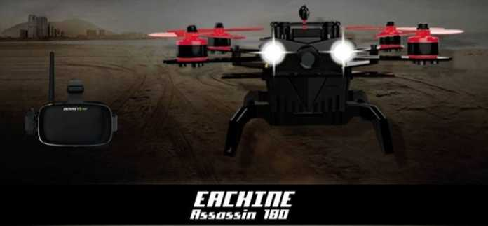 Eachine Assassin 180 racing quadcopter
