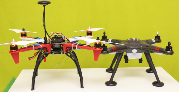 F450 DIY quadcopter vs XK X380