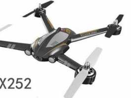 XK X252 quadcopter