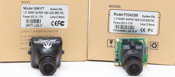 RunCam Swift camera review - Competitors
