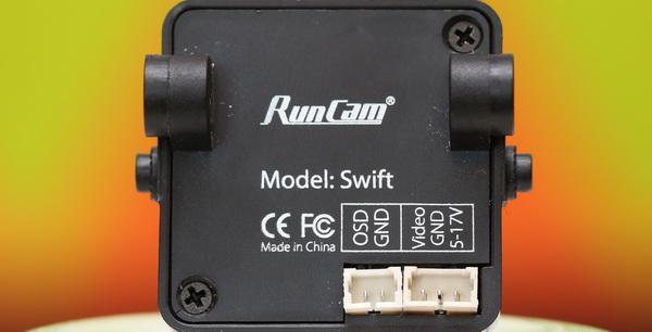 RunCam Swift camera-review - Connectors
