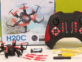 JJRC H20C eview