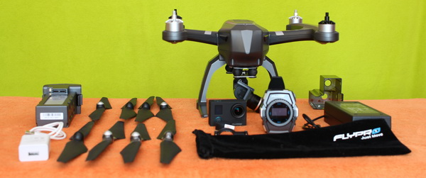 FlyPro XEagle review - Accessories