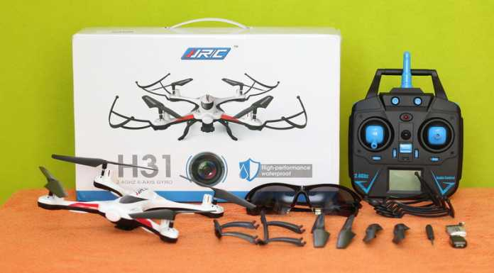 JJRC H31 quadcopter review