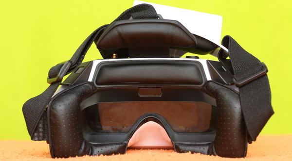 Walkera Goggle 4 review - Face padding