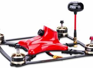 DYS XDR220 FPV quadcopter