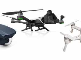 DJI Mavic, GoPro Karma and Yuneec Breeze selfie drones