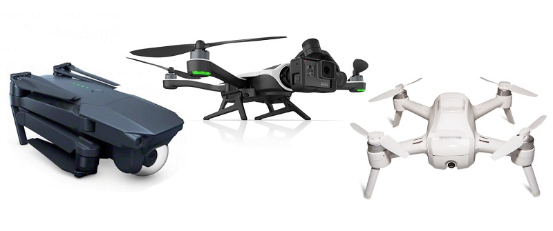 DJI Mavic Vs GoPro Karma Yuneec Breeze