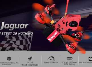 FLYPRO Xjaguar racing quadcopter