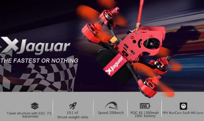 FLYPRO Xjaguar racing quadcopter