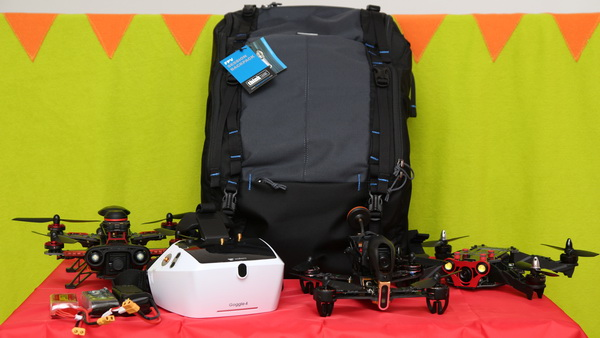 FPV Session drone backpack review - What Fits