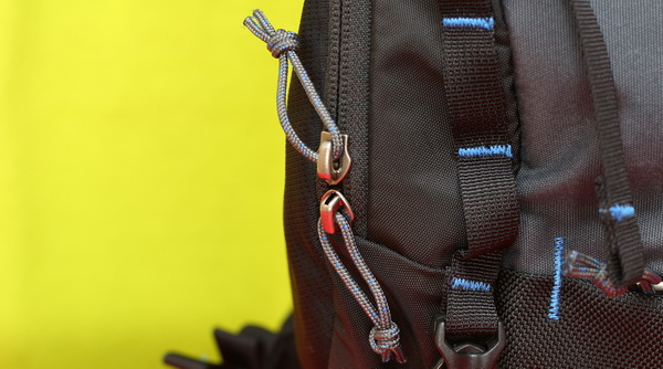 FPV Session drone backpack review - Zippers
