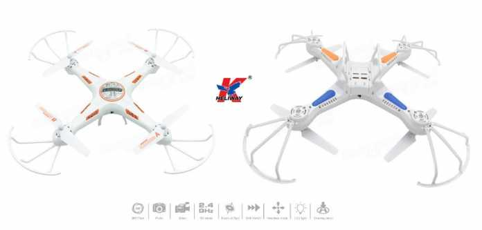 Heliway 905d quadcopter KIT for newbies