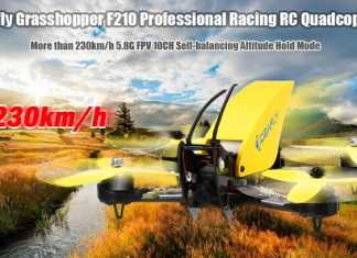 Ideafly Grasshopper f210 racing quadcopter
