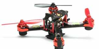Realacc GX210 racing quadcopter