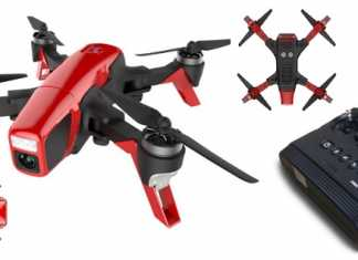SMD Red Arrow FPV quadcopter