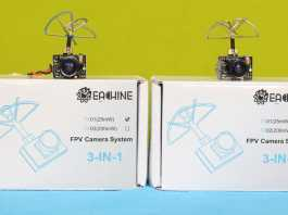 Eachine TX01 and Eachine TX02 camera review