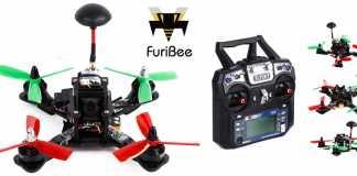 FuriBee F180 FPV quadcopter