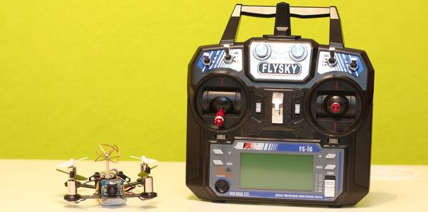 Eachine Tiny Q95 review - Transmitter