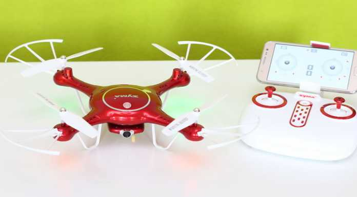 Syma X5UW quadcopter review