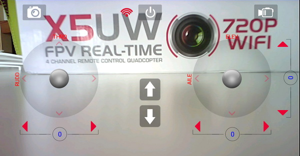 Syma X5UW quadcopter review - SymaGO APP