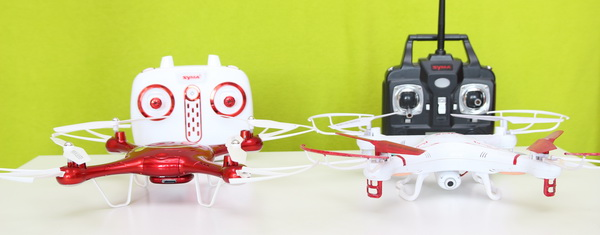 Syma X5UW review - VS Syma X5C