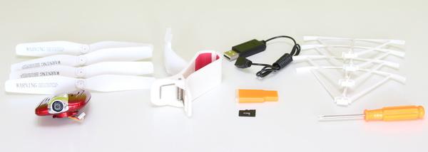 Syma X5UW quadcopter review - Accessories