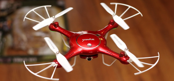 Syma X5UW quadcopter review - Test flight