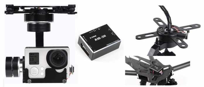 X-cam A10-3H 3-axis gimbal