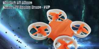 Warlark 80 micro quadcopter drone
