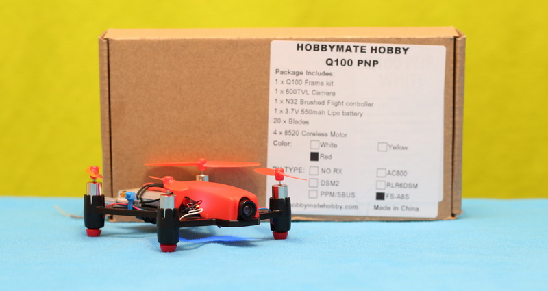 HobbyMate Q100 review: Build and Test   First Quadcopter