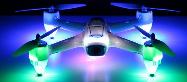 XBM-55 quadcopter review - Lights
