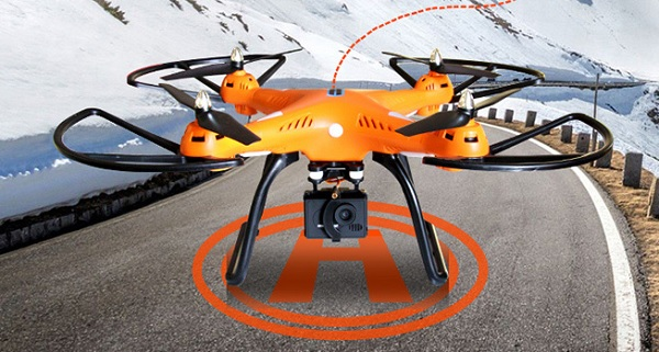 Huanqi H899C with quadcopter GPS return to home