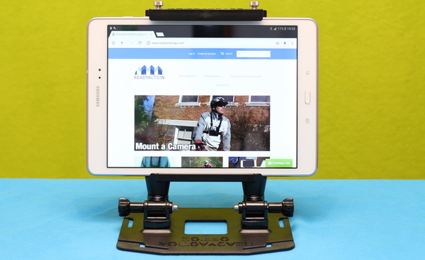 ReadyAction Tablet harness review - As tablet desk stand