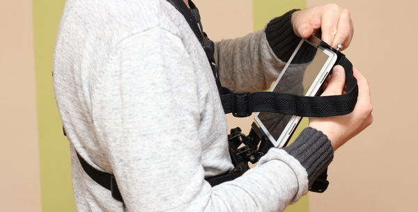 ReadyAction Tablet Chest harness review - Extra straps for heavier tablets