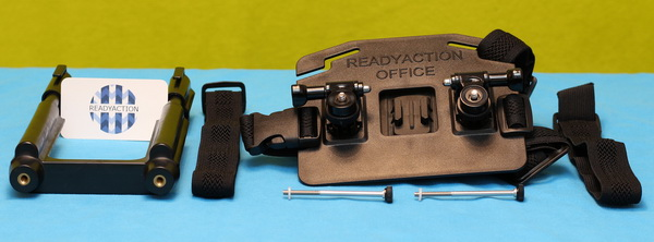 ReadyAction Tablet chest harness review - Included accessories