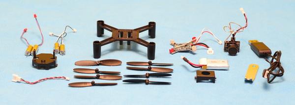 dm002 quadcopter review - Parts list