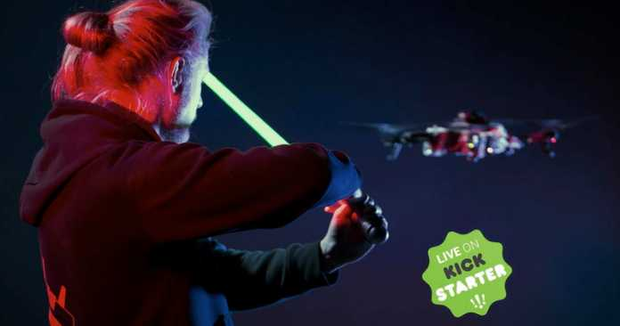 Star Wars Jedi training quadcopter
