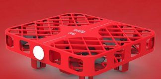 DHD D3 drone with meshed protective case