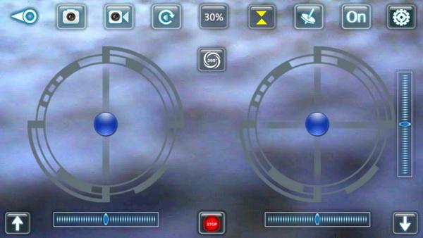 Eachine E33W review - Smarthpone control
