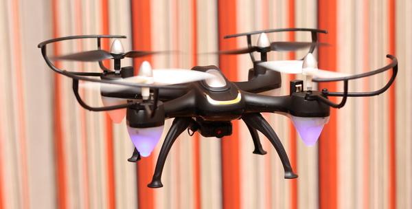 Eachine E33W quadcopter review - Test flight