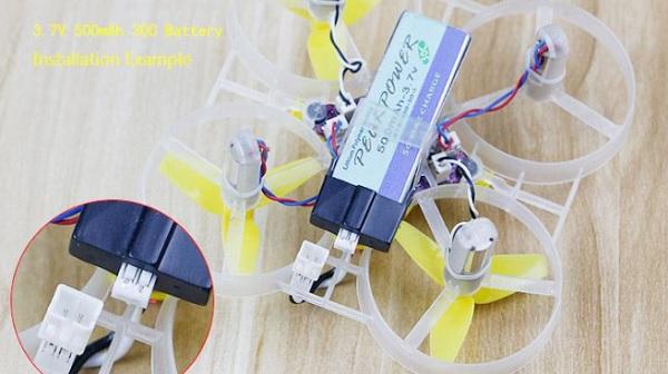 KINGKONG Tiny 7 quadcopter battery