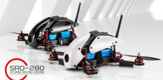 Storm racing qudcopter srd280