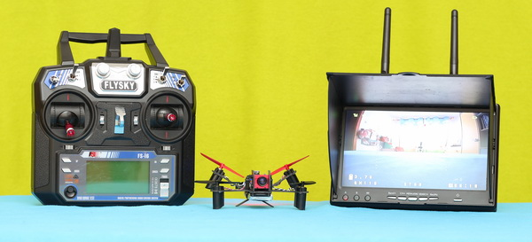 Eachine V-Tail QX110 review - Test