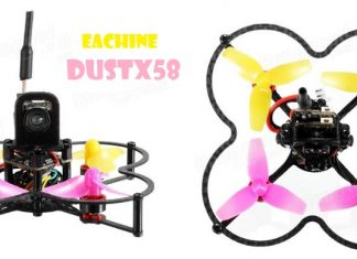Eachine Dust X58 quadcopter