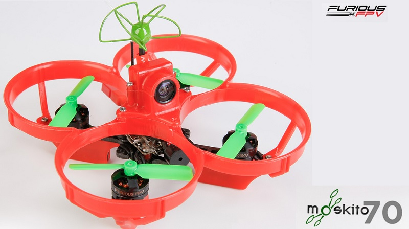 Furious Moskito 70 tiny brushless FPV racer   First Quadcopter