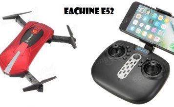 Eachine E52 selfie quadcopter