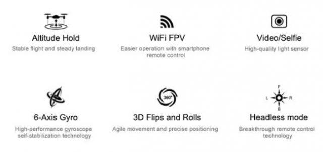 Eachine E52 main features
